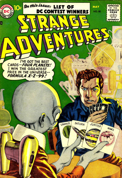Cover for Strange Adventures (DC, 1950 series) #80