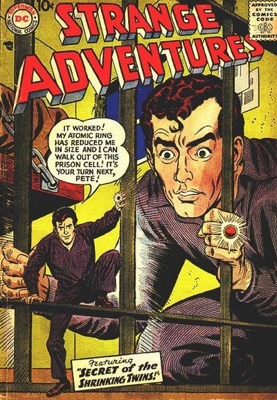 Cover for Strange Adventures (DC, 1950 series) #81
