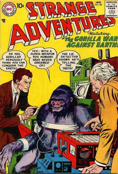 Cover for Strange Adventures (DC, 1950 series) #88