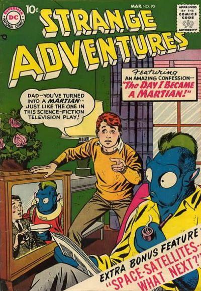 Cover for Strange Adventures (DC, 1950 series) #90