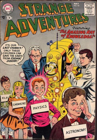 Cover for Strange Adventures (DC, 1950 series) #92