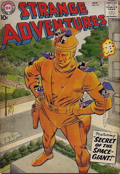 Cover for Strange Adventures (DC, 1950 series) #97
