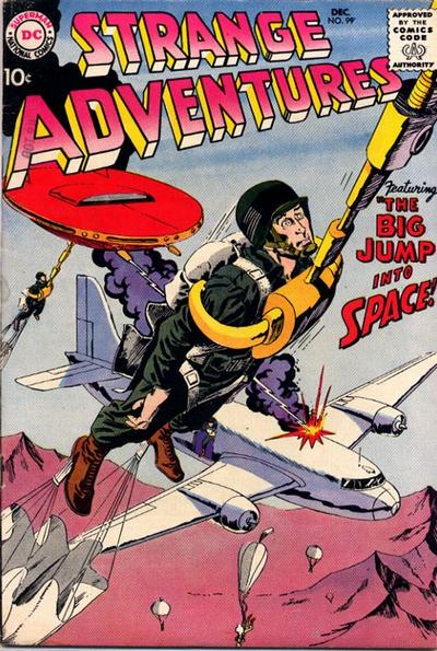 Cover for Strange Adventures (DC, 1950 series) #99