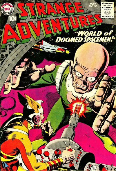 Cover for Strange Adventures (DC, 1950 series) #104