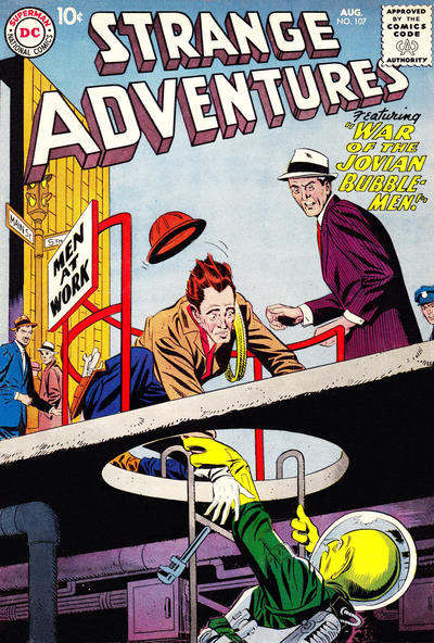 Cover for Strange Adventures (DC, 1950 series) #107
