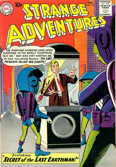 Cover for Strange Adventures (DC, 1950 series) #111