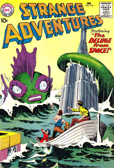 Cover for Strange Adventures (DC, 1950 series) #113