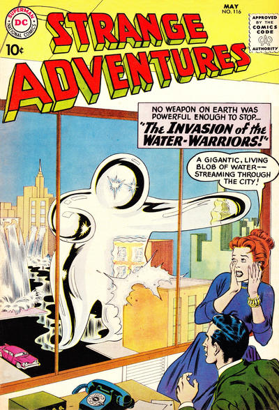 Cover for Strange Adventures (DC, 1950 series) #116