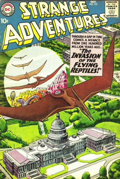 Cover for Strange Adventures (DC, 1950 series) #121