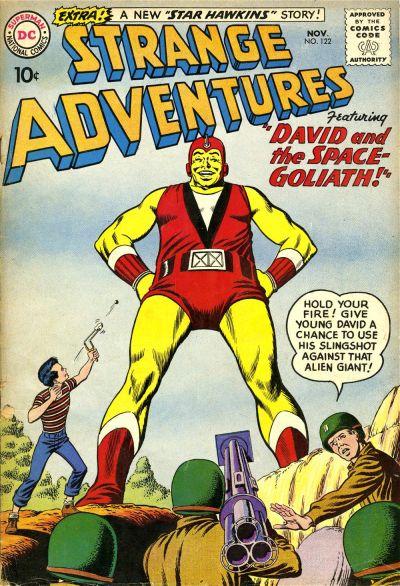 Cover for Strange Adventures (DC, 1950 series) #122