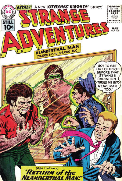 Cover for Strange Adventures (DC, 1950 series) #126