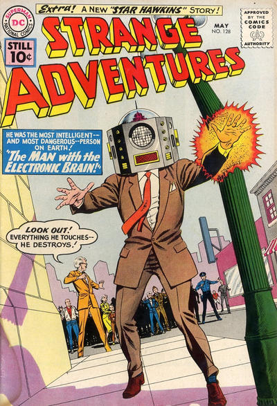 Cover for Strange Adventures (DC, 1950 series) #128