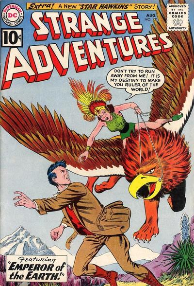 Cover for Strange Adventures (DC, 1950 series) #131