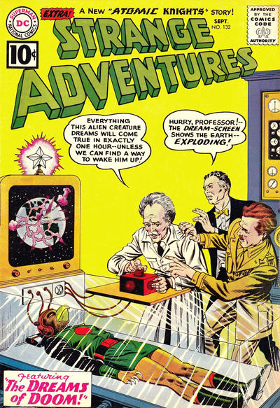Cover for Strange Adventures (DC, 1950 series) #132