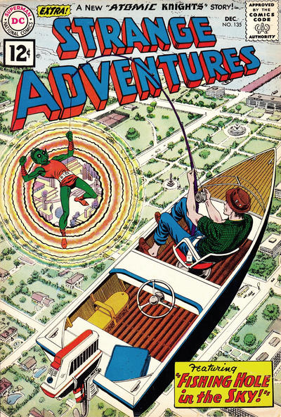 Cover for Strange Adventures (DC, 1950 series) #135