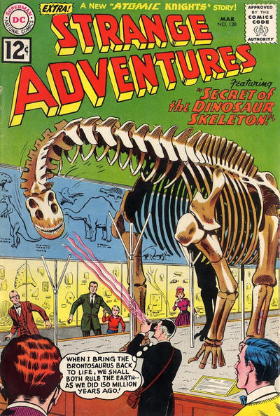 Cover for Strange Adventures (DC, 1950 series) #138
