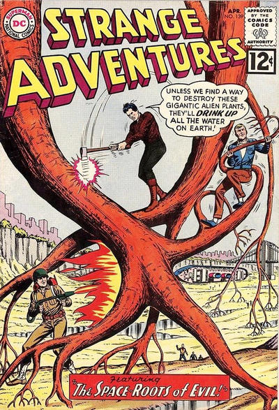 Cover for Strange Adventures (DC, 1950 series) #139