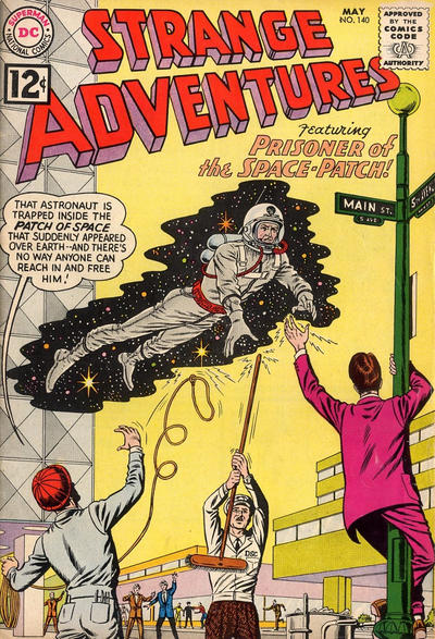 Cover for Strange Adventures (DC, 1950 series) #140