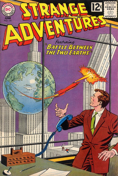Cover for Strange Adventures (DC, 1950 series) #141