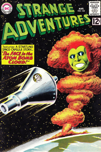 Cover for Strange Adventures (DC, 1950 series) #143