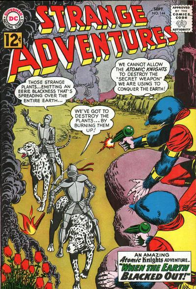 Cover for Strange Adventures (DC, 1950 series) #144
