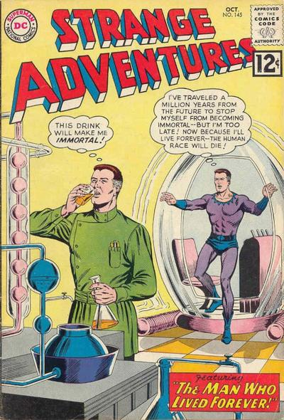 Cover for Strange Adventures (DC, 1950 series) #145