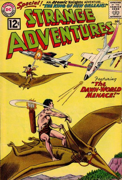 Cover for Strange Adventures (DC, 1950 series) #147