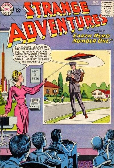Cover for Strange Adventures (DC, 1950 series) #148