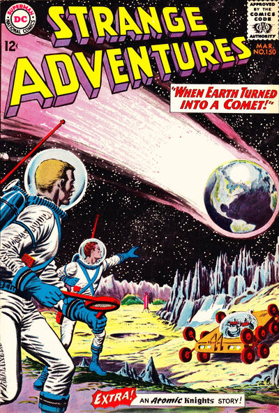 Cover for Strange Adventures (DC, 1950 series) #150
