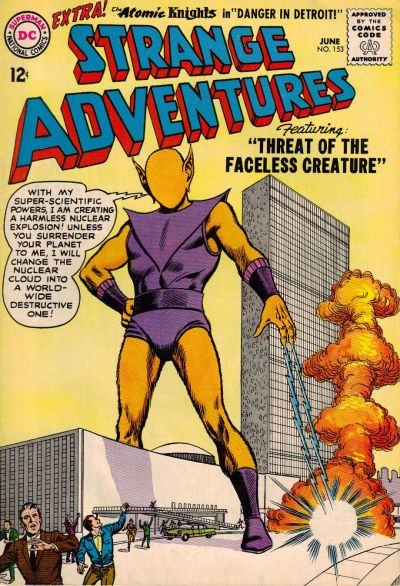 Cover for Strange Adventures (DC, 1950 series) #153