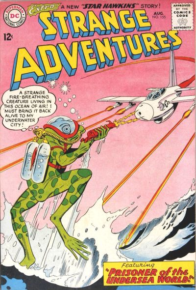 Cover for Strange Adventures (DC, 1950 series) #155