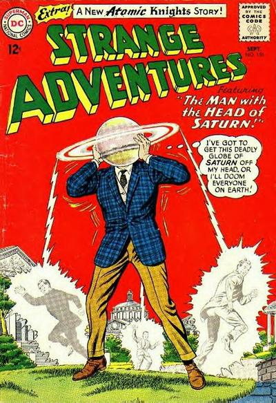 Cover for Strange Adventures (DC, 1950 series) #156