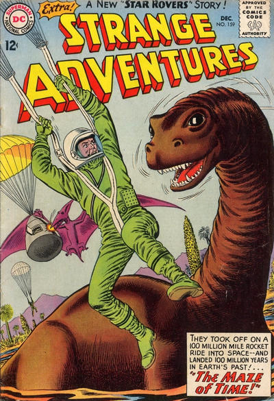 Cover for Strange Adventures (DC, 1950 series) #159