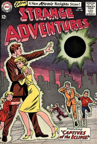Cover for Strange Adventures (DC, 1950 series) #160