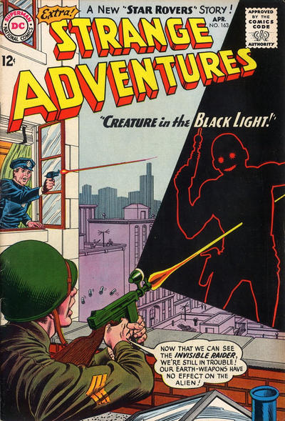 Cover for Strange Adventures (DC, 1950 series) #163