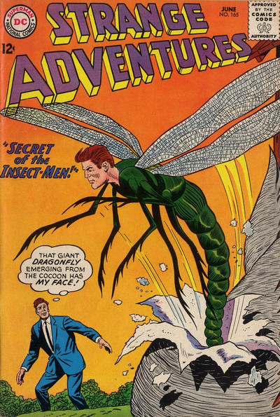 Cover for Strange Adventures (DC, 1950 series) #165
