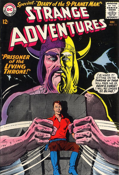 Cover for Strange Adventures (DC, 1950 series) #171