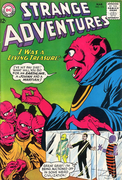 Cover for Strange Adventures (DC, 1950 series) #174