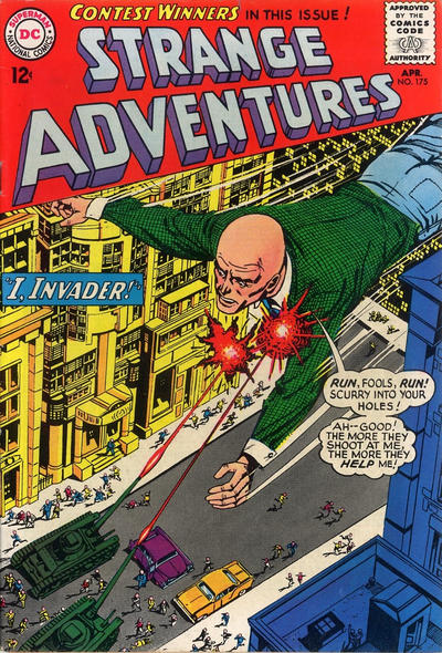 Cover for Strange Adventures (DC, 1950 series) #175