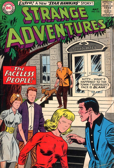 Cover for Strange Adventures (DC, 1950 series) #176
