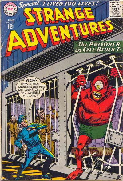 Cover for Strange Adventures (DC, 1950 series) #177