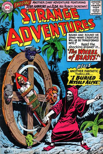 Cover for Strange Adventures (DC, 1950 series) #179