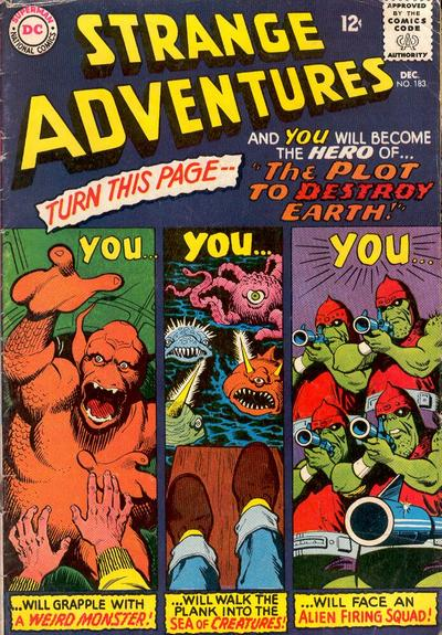 Cover for Strange Adventures (DC, 1950 series) #183
