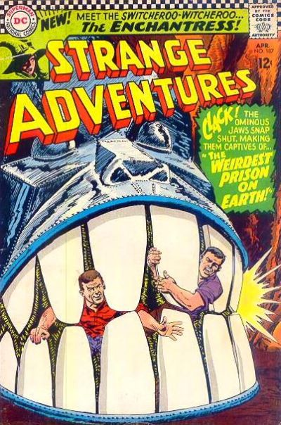 Cover for Strange Adventures (DC, 1950 series) #187