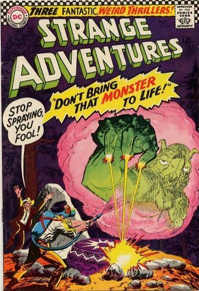 Cover for Strange Adventures (DC, 1950 series) #188