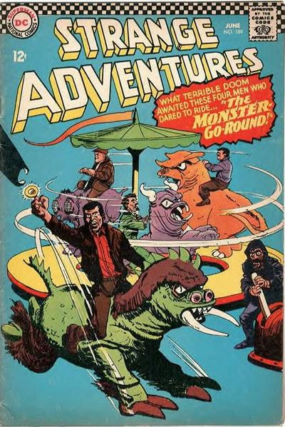 Cover for Strange Adventures (DC, 1950 series) #189