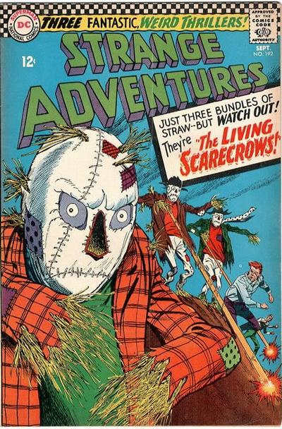 Cover for Strange Adventures (DC, 1950 series) #192