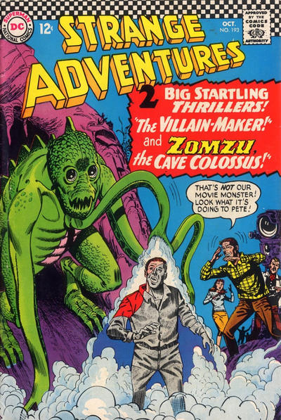 Cover for Strange Adventures (DC, 1950 series) #193