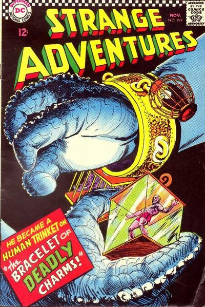 Cover for Strange Adventures (DC, 1950 series) #194