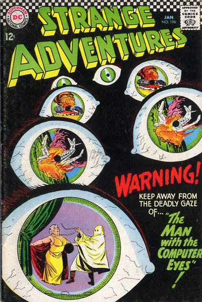 Cover for Strange Adventures (DC, 1950 series) #196